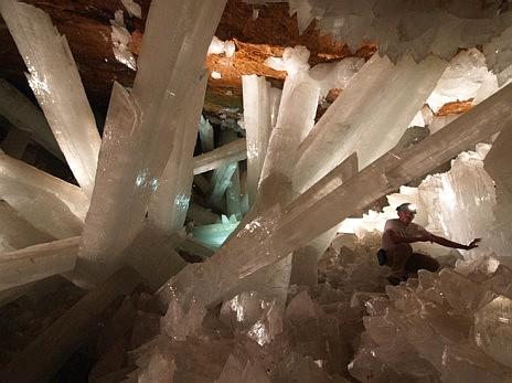 La cueva de los cristales de Naica. Javier Trueba | Madrid Scientific Films